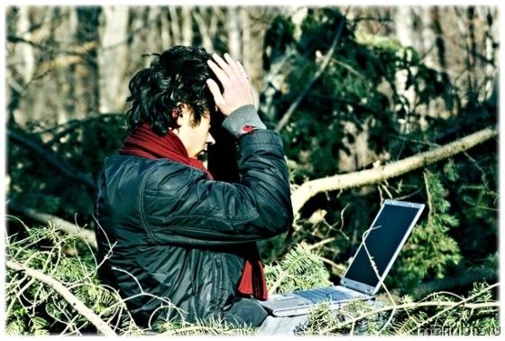 Копирайтинг в лесу, или настоящий копирайтер