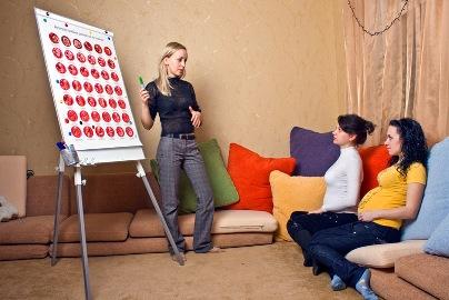 Как открыть собственную школу для молодых мам