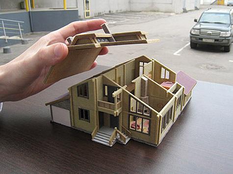 как делать бумажный макет