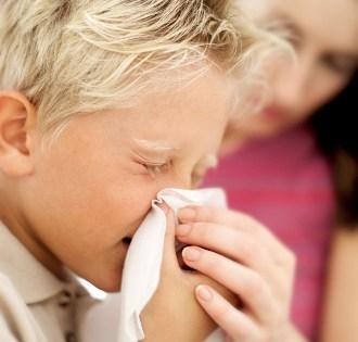 Проявления аллергического ринита у детей