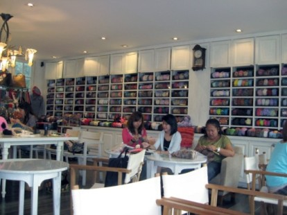 Бизнес-идея: Кафе-студия вязания Big Knit Cafe в Тайланде