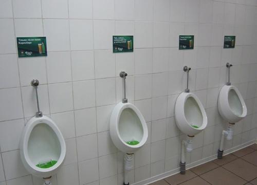Реклама в общественных туалетах - новый эффективный вид маркетинга