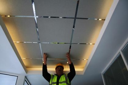Бизнес-идея: предоставление услуг по ремонту подвесных потолков