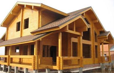 Современное деревянное строительство из клееного и лвл бруса