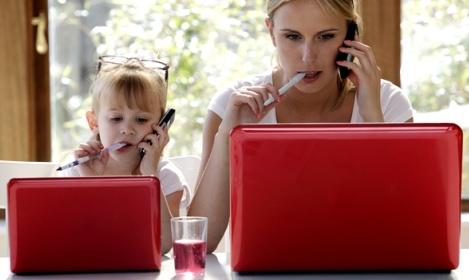 Работающие мамы и их дети: сложности взаимоотношений