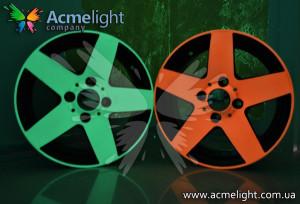 Оригинальная идея бизнеса: светящиеся диски