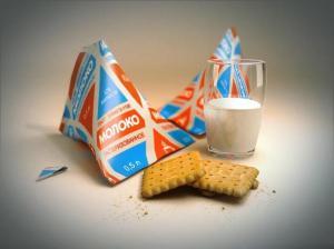 Молоко в треугольной упаковке - о особенностях маркетинга