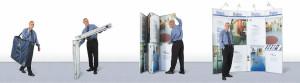 Реклама товара — выставочные и мобильные стенды