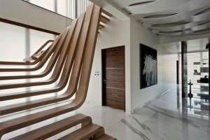 Проектируем лестницу под интерьер дома