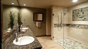 Безупречный интерьер ванной комнаты