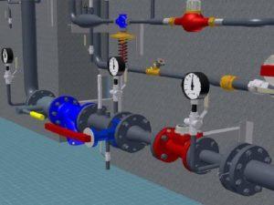 Важность водомерного узла в цеху на производстве